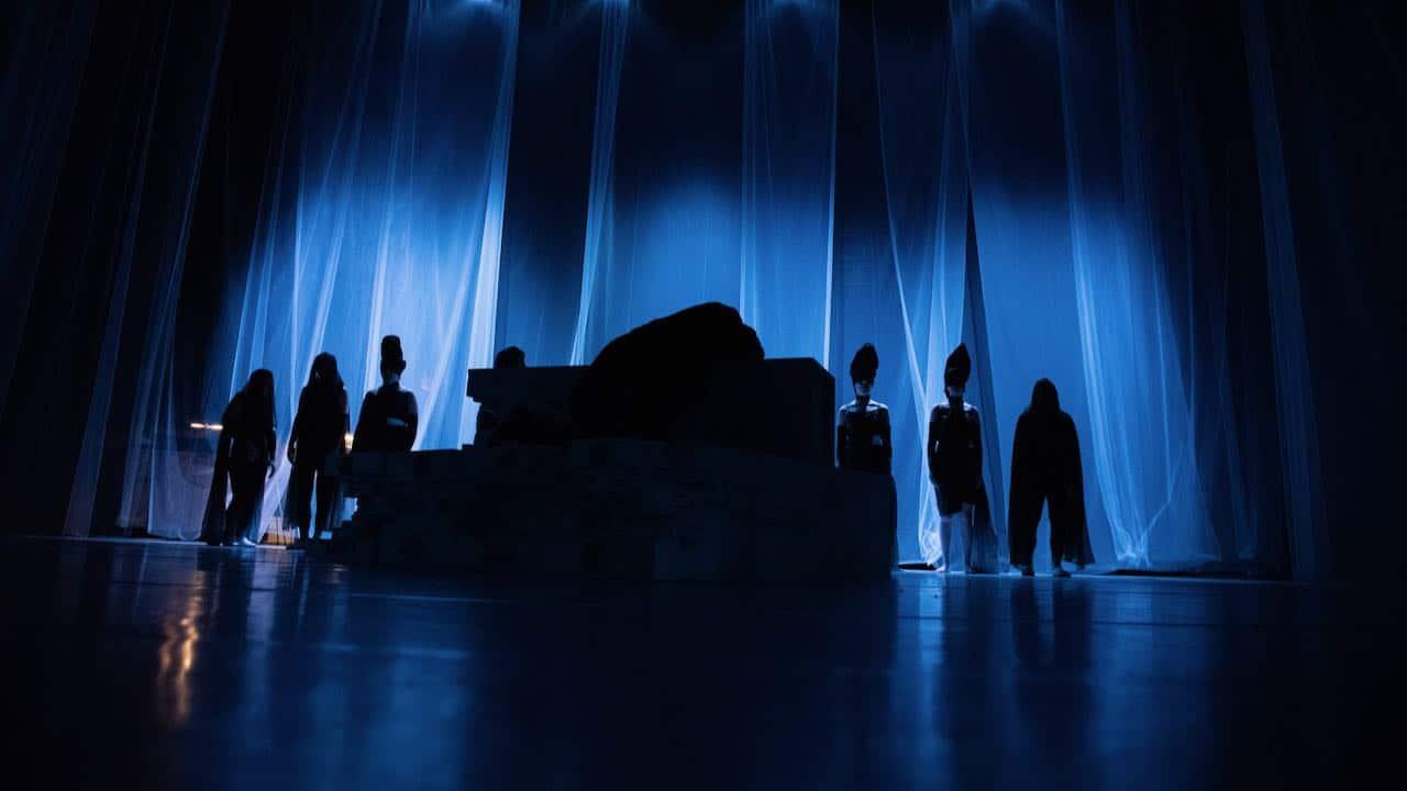 Répétition générale de l'Ombra à Divonne - Fin du spectacle